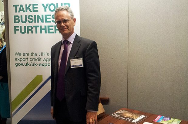 Stuart Stoter, one of UKEF's regional export finance managers.